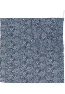 Moumout Cobertor Estampado - Azul