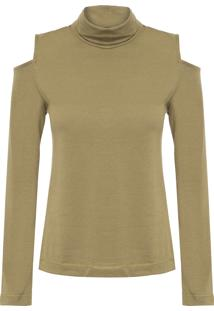 Camiseta Feminina Dina - Verde