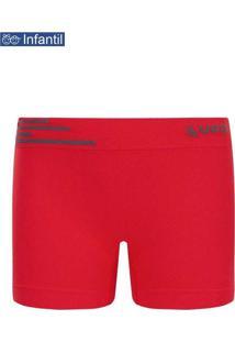 Cueca Boxer Lupinho 0132-002 Infantil 5640-Vermelh