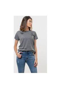 Camiseta Jay Jay Básica Fashion Art Chumbo