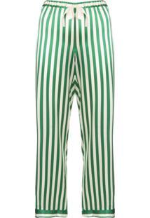 Morgan Lane Calça De Pijama 'Chantal' - Verde
