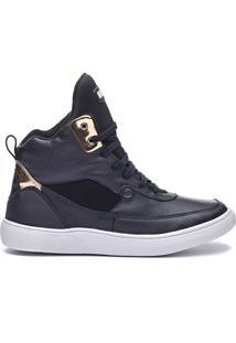 Tênis Sneaker Masculino Rockfit Lennon Preto