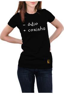 Camiseta Hunter Coxinha Preta
