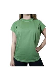 Camiseta Colcci Pespontos Verde