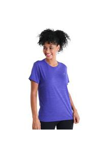 Camiseta Basic Energy Ii - Roxo - Líquido