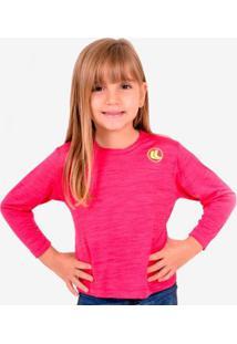 Camisa Esporte Legal Rajada Infantil - Feminino
