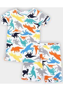 Conjunto Pijama Infantil Gap Estampa Dino Masculino - Masculino