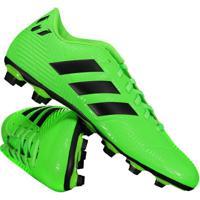 19b3306d64 Chuteira Adidas Nemeziz Messi 18.4 Fxg Campo Verde