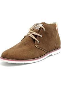 Bota Shoes Grand Cano Curto Masculina - Masculino-Marrom