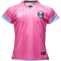 Camiseta Feminina Juvenil Grêmio Umbro Outubro Rosa 2425c91ae46c4