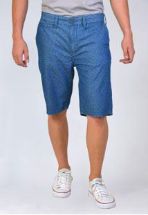 Bermuda Jeans Tradicional Yck'S Azul - Kanui