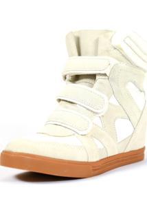 Tênis Sneaker Qix Higher Bege