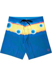 Boardshort Vw Freedom Circles - Azul Marinho - Masculino - Dafiti