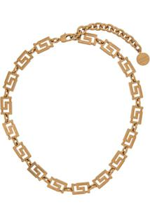 Versace Grecamania Necklace - Dourado