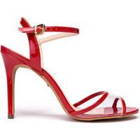 510b162ba9 Sandália Amaro Vermelha feminina