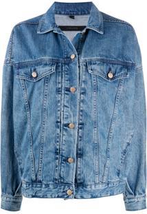 J Brand Jaqueta Jeans Drew - Azul