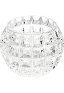 Vaso Rose M- Cristal- 10,8Xø13Cm- Rojemacrojemac