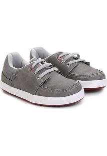 Sapato Infantil Pimpolho Básico Masculino - Masculino-Cinza