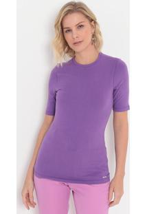 Camiseta Lisa- Roxa- Colccicolcci