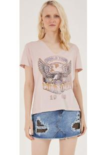 "Camiseta ""Mind Soul 1986"" - Rosa Claro & Begepop Up"