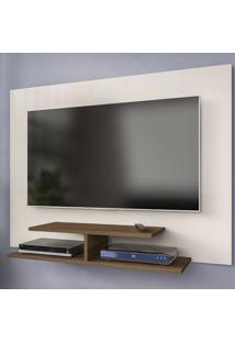 Painel Para Tv Até 42 Polegadas Jet Plus Off White/Amêndoa - Artely