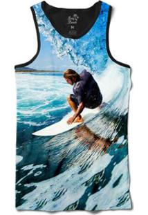 Camiseta Long Beach Regata Tubo Sublimada Masculina - Masculino-Azul 29a2b15f76a