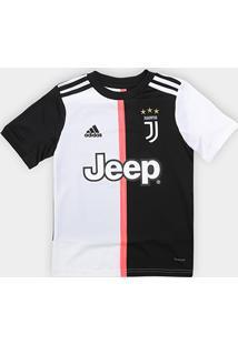 Camisa Juventus Infantil Home 19/20 S/N°Adidas - Masculino