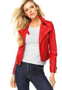 Jaqueta Ellus Perfecto Vermelha