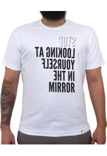 Mirror - Camiseta Clássica Masculina