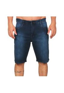 Bermuda Jeans Lost Relaxed Blue Black