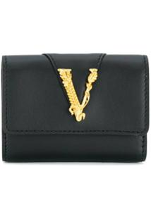 Versace Clutch Virtus - Preto