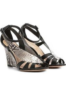 e41877d775 Sandália Shoestock Anabela Snake Feminina - Feminino