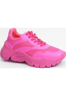 Tênis Feminino Sneaker Neon Marisa