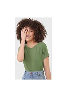Camiseta Dress To Canelada Verde