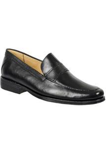 Sapato Social Sandro & Co. Loafer Moscolini Masculino - Masculino-Preto