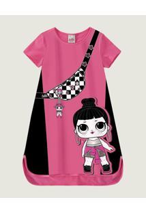 Vestido Lol Surprise® Cotton Malwee Kids Rosa - 6