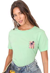 Camiseta Vans Wm Photo Op Verde