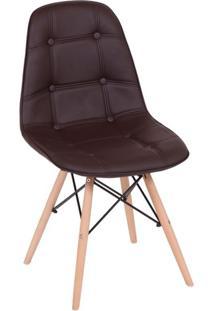Cadeira Eames Eiffel Marrom