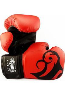 Luva De Boxe Muay Thai Spank - 12Oz - Unissex