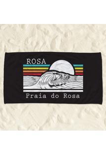 Toalha De Praia Do Rosa Pump Up