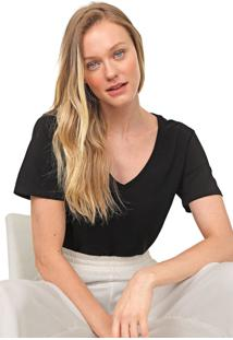 Camiseta Lez A Lez Lisa Preta