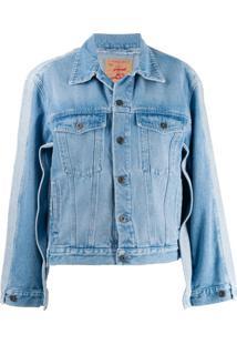 Y/Project Jaqueta Jeans Clássica - Azul