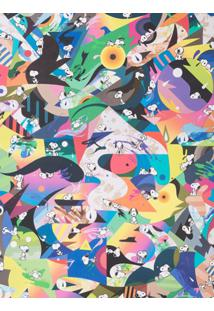 Chasing Paper Papel De Parede 'Psychedelic Snoopy' - Multicoloured