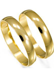 Aliança De Ouro Ideograma Do Amor - As0138