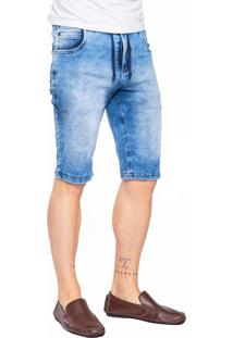 Bermuda Jeans Aero Jeans Azul - Kanui