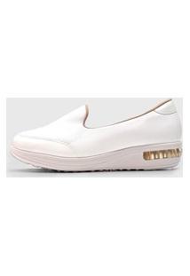 Slipper Jogging Modare Liso Branco