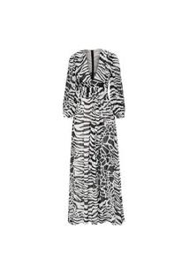 Vestido Longo Kruger - Animal Print