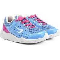 6ce0b5c0774 Tênis Ortopé Eva Soft Infantil - Feminino-Azul+Pink