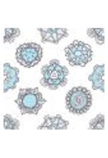 Papel De Parede Autocolante Rolo 0,58 X 5M - Floral 255909565