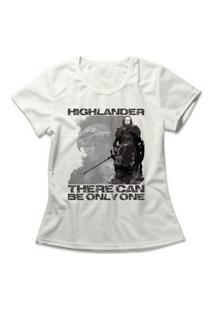Camiseta Feminina Highlander Off-White
